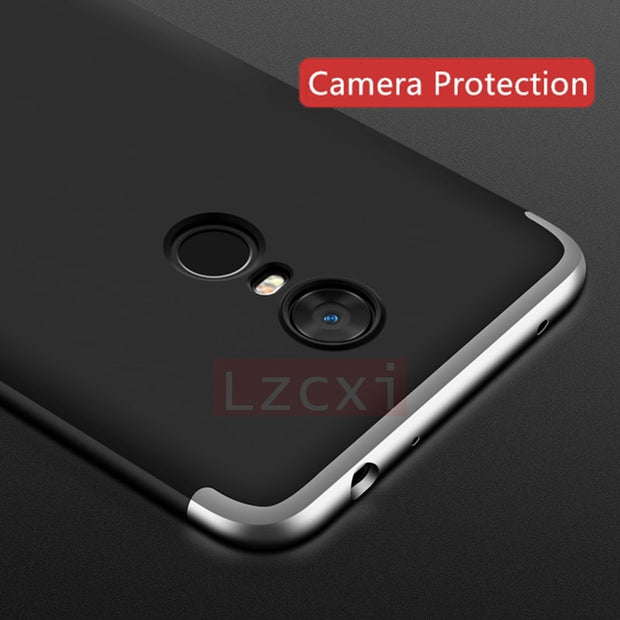 Luxury 360 Degree Protective Case For Xiaomi Redmi 5 Plus 5A Prime Full Cover For Redmi Note 5 Pro Y1 Phone Cases Funads