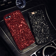 Luxury Bling Glitter Shining Flash Powder Cases For IPhone 6 6S 7 Plus PC Hard Cover Back For IPhone X 6 7 8 Plus