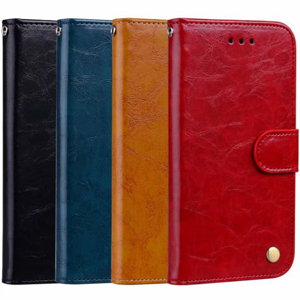 Luxury Retro Leather Case For Samsung Galaxy S7 Edge Card Stand PU Wallet Case For Samsung S7 Leather Flip Wallet Cover Case