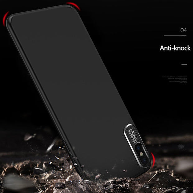 Luxury Slim Brushed Phone Cases For IPhone X 8 7 6 6S Plus Case For Samsung Galaxy S8 Plus Note 8 Cover Shockproof Matte Shell