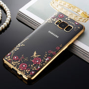 Luxury Soft TPU Back Coque Case For Samsung Galaxy S9 Plus S8 S7 Edge S6 A3 A5 A7 2016 J3 J5 J7 J730 Pro 2017 A8 Plus 2018 Case