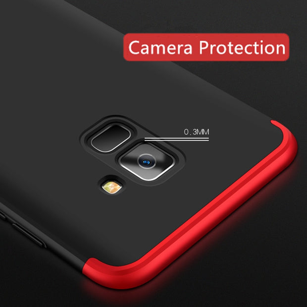 Lzcxi Luxury 360 Full Protective Cases For Samsung Galaxy A8 Plus Phone Case For Samsung Galaxy A8 2018 A830 Cover Capa Coque