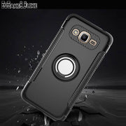 MAKEULIKE Kickstand Back Case For Samsung Galaxy J2 Prime Cover Ring Armor Phone Bags Cases For Samsung J2Prime Capinhas