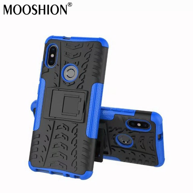 MOOSHION Anti-Knock Protective Case For Xiaomi Redmi Note 5 Pro Global 5.99inch Mobile Phone Cover 64GB Back Case Coque