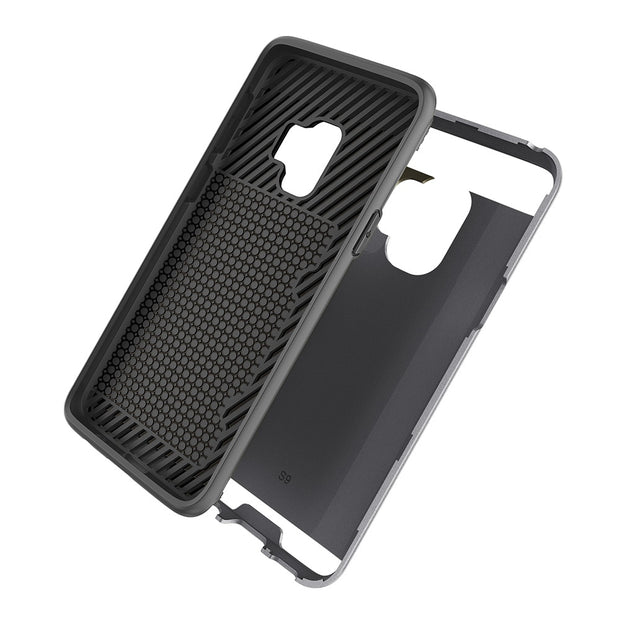 MXHYQ Brushed Protect The Back Of The Shell Can Be Inserted Into The Wallet For SAMSUNG Galaxy S9 S9 Plus For Phone Cases 088