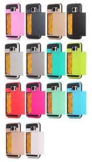 MXHYQ Protect Fashion Multicolor Card For SAMSUNG Galaxy S7 S8 S7 Edge S8 Plus For Phone Cases 087