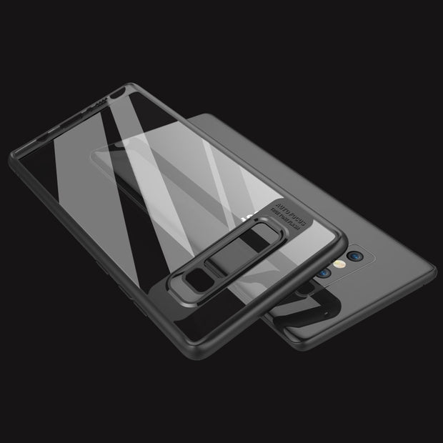 MXHYQ Luxurious Two In One Anti-drop Transparent Silicone Case For SAMSUNG Note8 For Phone Cases