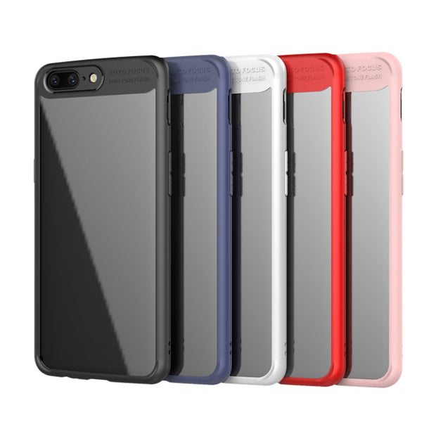MXHYQ Luxurious Two In One Anti-drop Transparent Silicone Case For One Plus 5 For Phone Cases