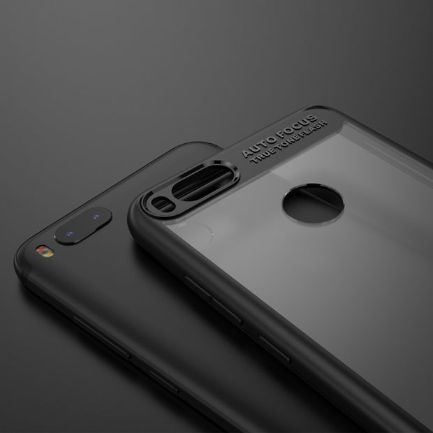 MXHYQ Luxurious Two In One Anti-drop Transparent Silicone Case For Xiaomi 5X For Phone Cases