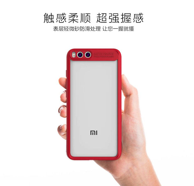 MXHYQ Luxurious Two In One Anti-drop Transparent Silicone Case For Xiaomi 6 For Phone Cases