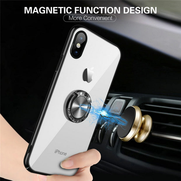 MXHYQ Luxury Car Magnetic Anti-drop Mobile Cover Case For SAMSUNG Galaxy S6 Edge Plus S6 Edge For Phone Cases