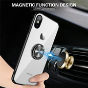 MXHYQ Luxury Car Magnetic Anti-drop Mobile Cover Case For Iphone X 6 6s 7 8 7 PLUS 8 PLUS 6 PLUS 6s Plus For Phone Cases