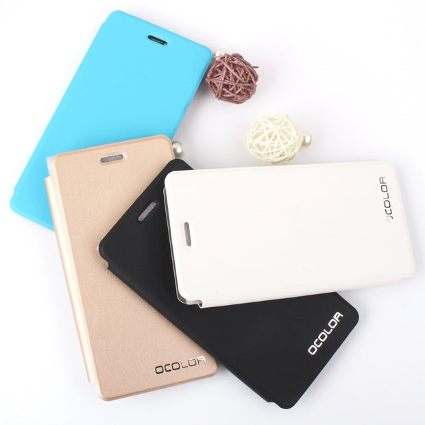 MXHYQ Luxury Leather Turn Left And Right Flip Without Inner Casing Cover Case For BLUBOO Picasso For Phone Cases Cover