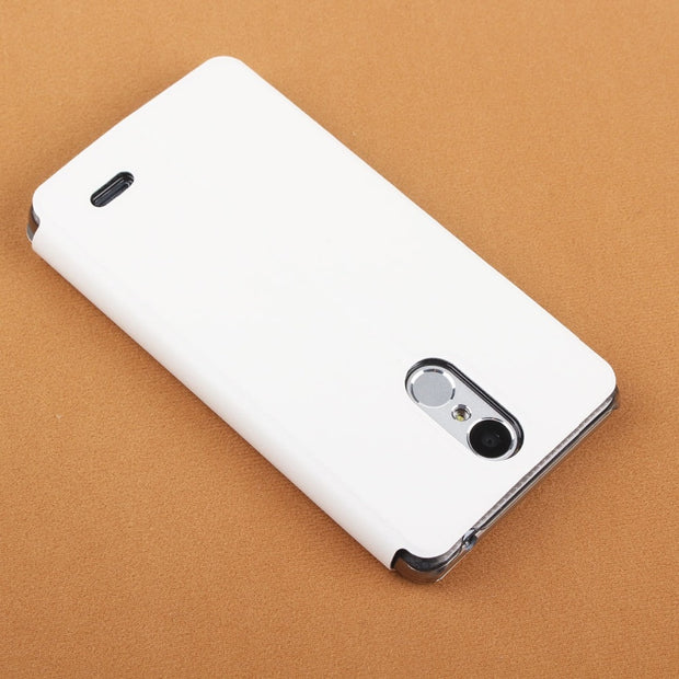 MXHYQ Luxury Leather Turn Left And Right Flip With PC Inner Casing Cover Case For LEAGOO M5 For Phone Cases Cover
