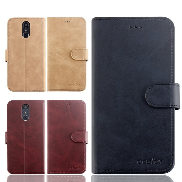 MXHYQ Luxury Leather Voltage Left And Right Flip Pluggable Card Wallet Case For Blackview A7 For Phone Cases Cover
