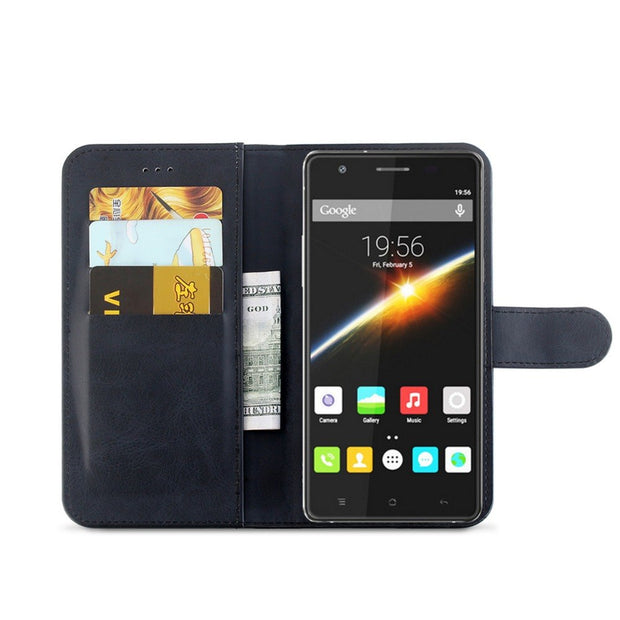 MXHYQ Luxury Leather Voltage Left And Right Flip Pluggable Card Wallet Case For Cubot X16s For Phone Cases Cover