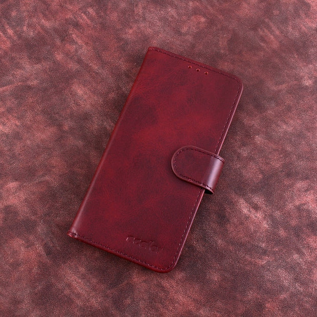MXHYQ Luxury Leather Voltage Left And Right Flip Pluggable Card Wallet Case For LEAGOO S8 Pro For Phone Cases Cover