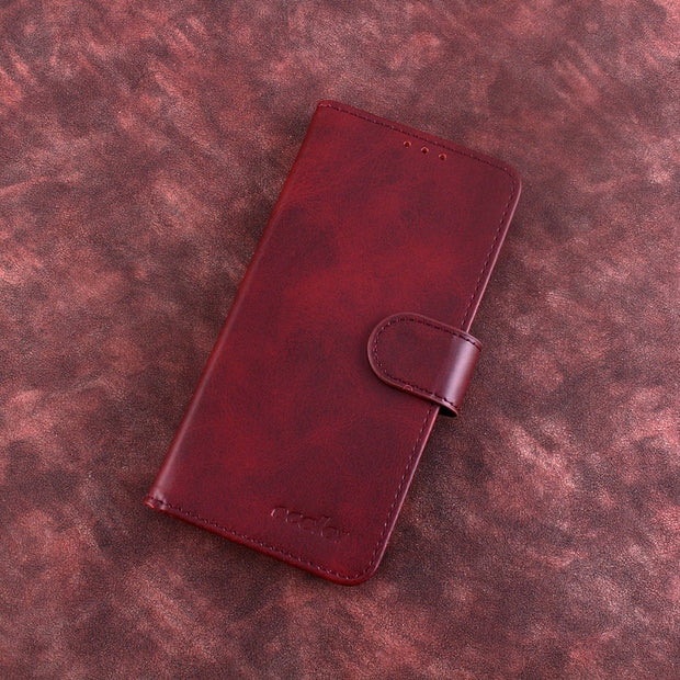 MXHYQ Luxury Leather Voltage Left And Right Flip Pluggable Card Wallet Case For Oukitel K5 For Phone Cases Cover
