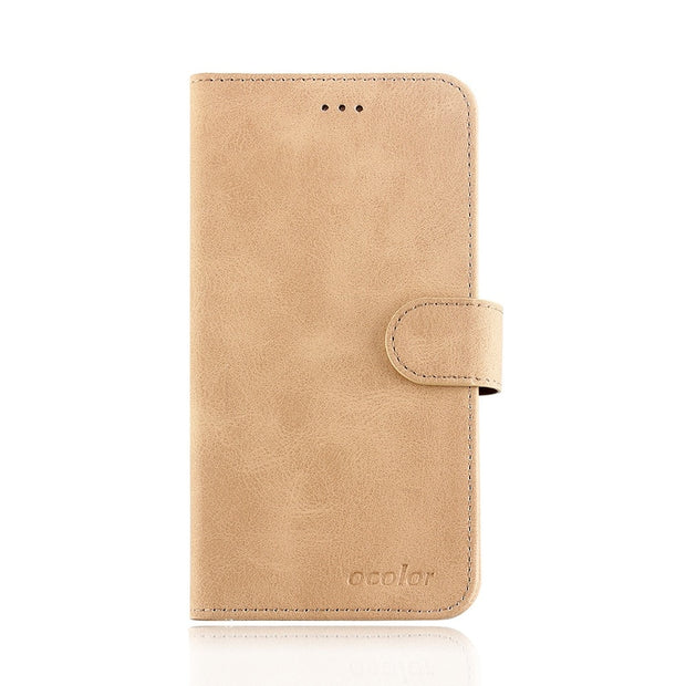 MXHYQ Luxury Leather Voltage Left And Right Flip Pluggable Card Wallet Case For Oukitel K5000 For Phone Cases Cover