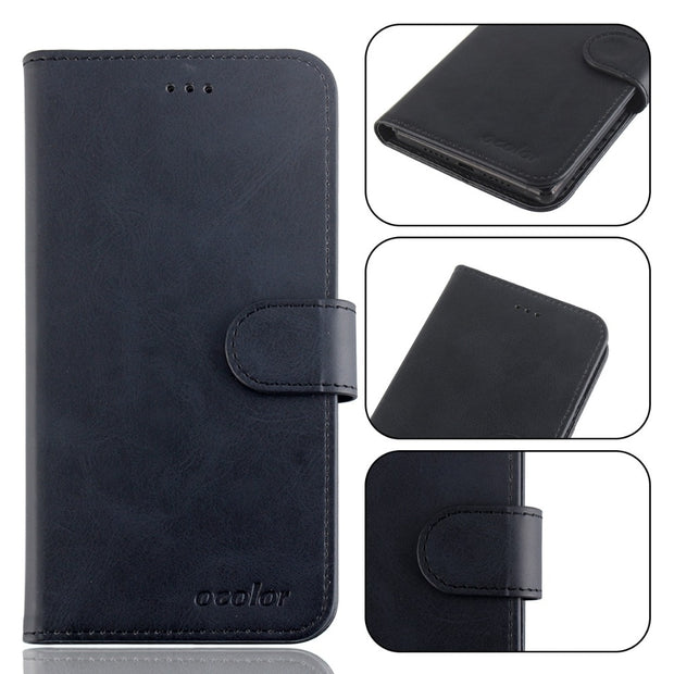 MXHYQ Luxury Leather Voltage Left And Right Flip Pluggable Card Wallet Case For Vernee MIX 2 For Phone Cases Cover