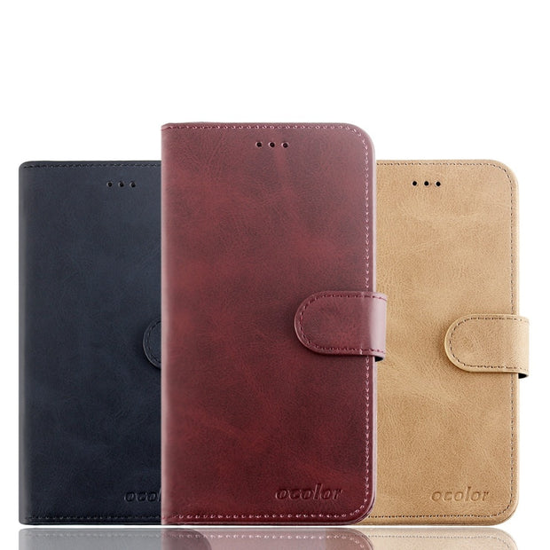 MXHYQ Luxury Leather Voltage Left And Right Flip Pluggable Card Wallet Case For Oneplus 33T For Phone Cases Cover