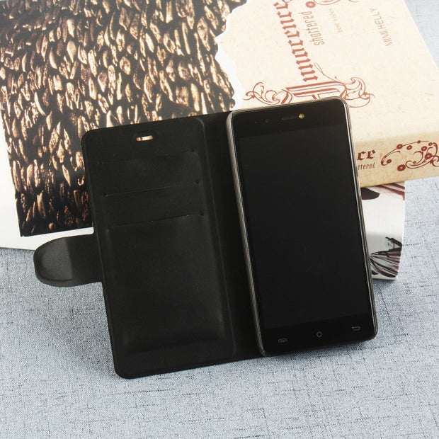 MXHYQ Luxury Leather Voltage Left And Right Flip With PC Inner Case For CUBOT R9 For Phone Cases Cover