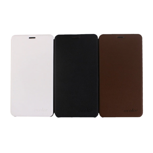 MXHYQ Luxury Leather Voltage Left And Right Flip With Pc Inner Casing Case For BLUBOO Dual For Phone Cases Cover
