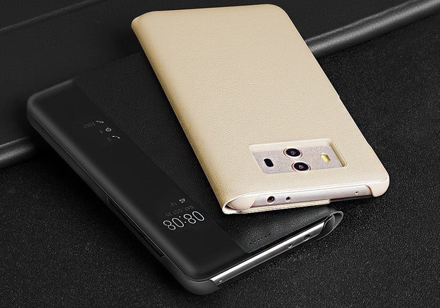 MXHYQ Luxury No Need To Flip To Answer Flip Cover Case For HUAWEI Mate 9/10 Mate 9/10 Pro P20 P10 Plus P20 Pro For Phone Cases