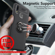 Magnetic Case For Huawei Nova 3 3i Ring Holder TPU Silicone Case For Huawei P20 Lite Nova 2 2S Y5 Y9 Y7 Prime 2018 Honor Note 10