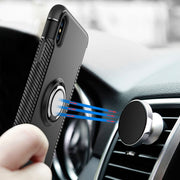 Magnetic Case For IPhone X 8 7 6 6s Case Car Ring Holder Stand Magnet Case For IPhone 10 7 6 6s 8 Cover Phone Holder Accessories