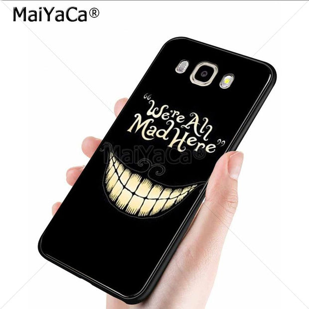 cover samsung j5 alice in wonderland