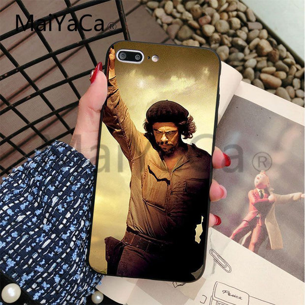 Maiyaca Che Guevara Soft Hot Selling Fashion Design Cell Case For Appl Charcoal Cases