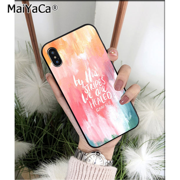 maiyaca christian quotes bible verse special offer phone case