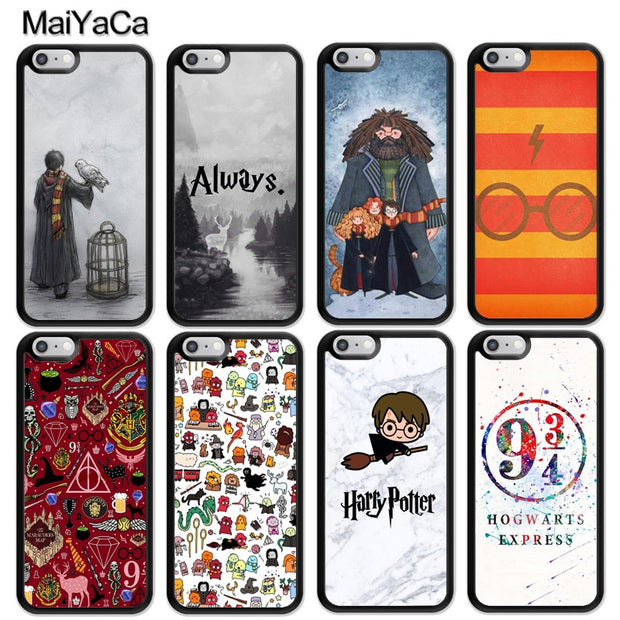 MaiYaCa Harry Potter Always Cute Printed Soft Rubber Skin Phone Cases For IPhone 6S 7 8 Plus X XR XS MAX 5S SE Back Cover Coque