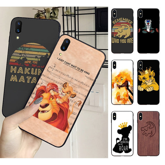 coque iphone 8 plus lion king