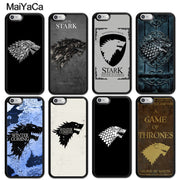 MaiYaCa MaiYaCa Game Of Throne Stark Winter Is Coming Phone Cases For IPhone 6 6S 7 8 Plus X XR XS MAX 5S SE Soft Rubber Cover