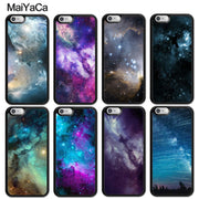 MaiYaCa Space Nebula Printed Soft Rubber Skin Phone Cases For IPhone 6 6S Plus 7 8 Plus X XR XS MAX 5 5S SE Back Cover Coque