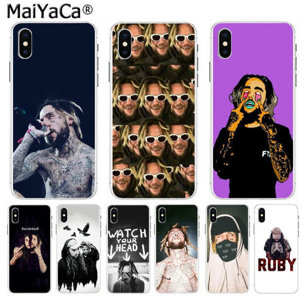 Maiyaca Suicideboys Ftp Soft Tpu Silicone High Quality Phone Case For Iphone 8 7 6 6s Plus X 10 5 5s Se Xs Xr Xs Max Cover