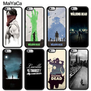 MaiYaCa The Walking Dead Printed Luxury Mobile Phone Cases OEM For IPhone 6 6S 7 8 Plus X XR XS MAX 5S SE Soft Rubber Cover