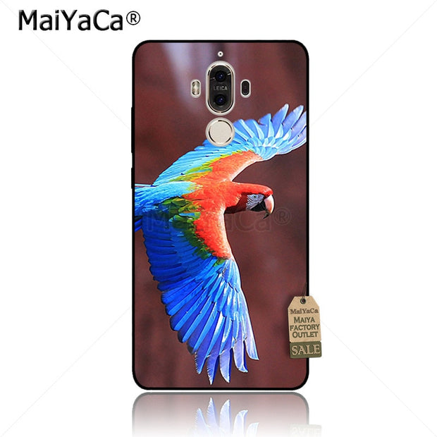 MaiYaCa Macaw-scarlet-macaws-birds-flight-parrots Phone Case