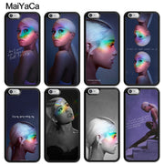 MaiYaCa Sexy Beauty Singer Ariana Grande Fashion Soft Rubber Skin Phone Cases For IPhone 6S 7 8 Plus X XR XS MAX 5 SE Back Cover