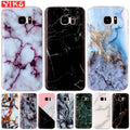 Marble Case For Samsung S5 S6 S7 S8 Edge Plus J3 J5 J7 Prime 2016 G530 A3 A5 2017 Soft Silicone Phone Cover Case Capinha Etui