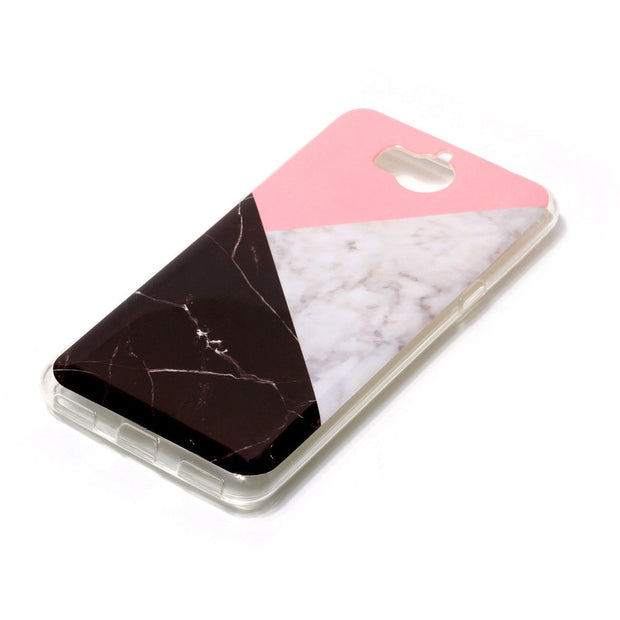Marble Soft Case For Coque Huawei Y5 2017 Case Silicone TPU Back Phone Cover For Huawei Y5(2017)/Y5 III/Y5 3 Capinha Etui