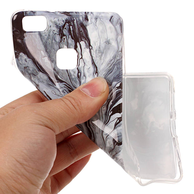 Marble Soft Case For Fundas Huawei P9 Lite Silicone TPU Back Phone Cover For Fundas Huawei P9 Lite Case Stone Case Capinha Etui