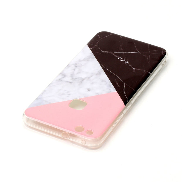 Marble Soft Case For Funda Huawei P10 Lite Cute Black Green Stone Back Phone Cover For Huawei P10 Lite Silicone Capinha Etui
