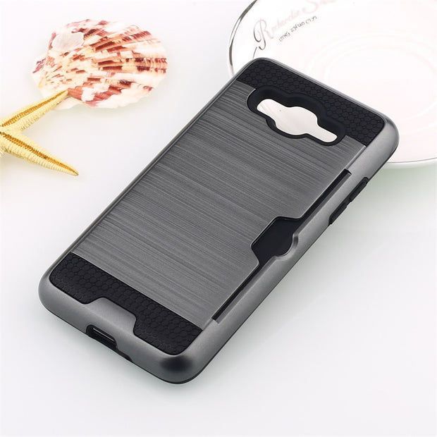 Gray phone case