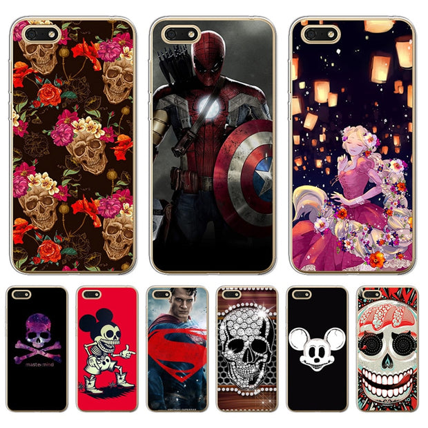 Mickey Mouse Marvel Hero Captain America For Huawei P8 Lite 2017 ...