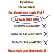 New Thick Dynamic Liquid Phone Cases For Alcatel One Touch Pixi 3 4.0 4013 4050 4013X 4013D 4050X Soft Silicon Back Cover Sand