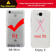 New Thick Dynamic Liquid Phone Cases For Huawei Enjoy 5S/ Ascend G8 Mini / GR3 TAG-L01 TAG-L03 TAG-L21 TAG-L22 Back Cover Sand