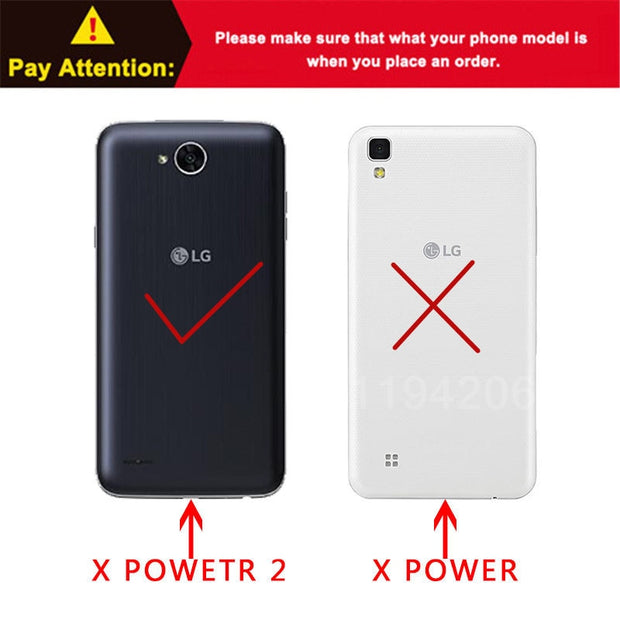 New Thick Dynamic Liquid Phone Cases For LG X Power 2 II / K10 Power LV7 M320 M320N X320 M322 Soft Silicon Back Cover Sand Capa
